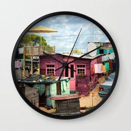 Squat New Age Wall Clock