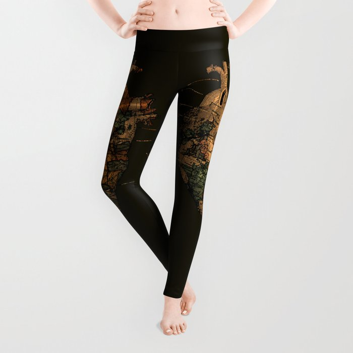 I'll Find You (Dark Brown) Leggings