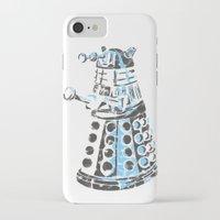 dalek iPhone & iPod Cases featuring Dalek Graffiti by spacemonkey89