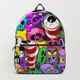 Monsters Doodles Characters Saga Backpack