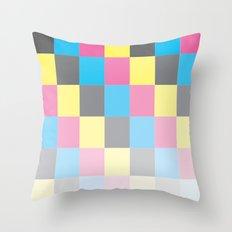 50 shades of CMYK Throw Pillow