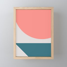 Geometric Form No.8 Framed Mini Art Print