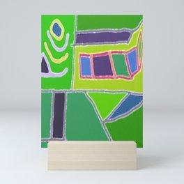 Blocks and Colors Mini Art Print
