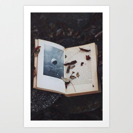 Book of the Stars Art Print