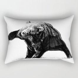 The Big Bad Bear by Chuchuligoff Rectangular Pillow