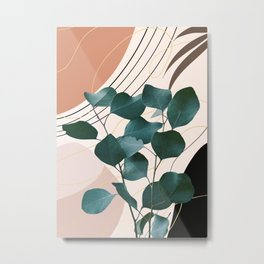 Eucalyptus Glam #1 #tropical #wall #decor #art #society6 Metal Print