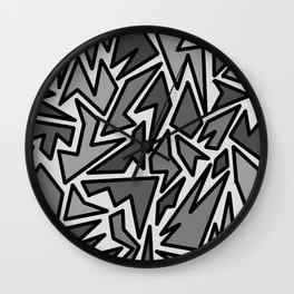 JIG JAG Wall Clock