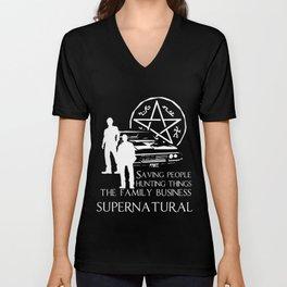 Supernatural  Unisex V-Neck