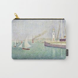 boating By the lake - Georges Seurat Carry-All Pouch