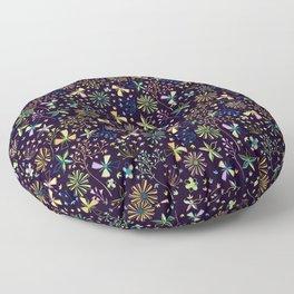delicate blooms Floor Pillow