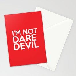 I'm Not Daredevil Stationery Cards