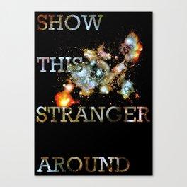 This Stranger Canvas Print