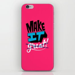Make It iPhone Skin