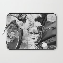 Venetian carnival mask D - Lady Nature Laptop Sleeve