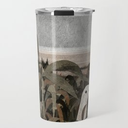There's A Ghost in the Cornfield Again Travel Mug