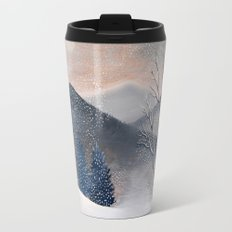 Snow Owl Travel Mug