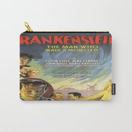 Vintage poster - Frankenstein Carry-All Pouch