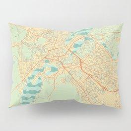 Potsdam Map Retro Pillow Sham