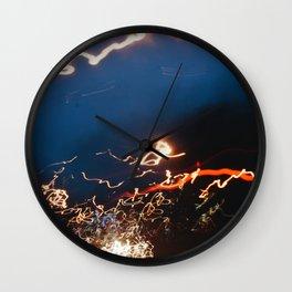 streak Wall Clock