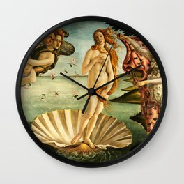 Sandro Botticelli The Birth Of Venus Wall Clock