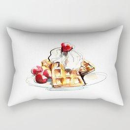 Waffle Rectangular Pillow