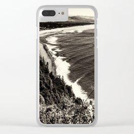 Manzanita Coastline Clear iPhone Case