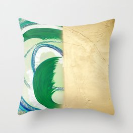 Create and Vanish Throw Pillow