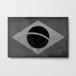 Brasil - Black&White Metal Print