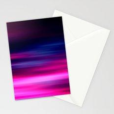 purple sunset II Stationery Cards