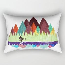 MTB retro Trails Rectangular Pillow