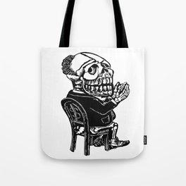 Capitalist Skull Tote Bag
