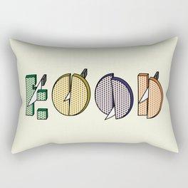Food Rectangular Pillow