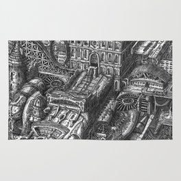 The Wandering City Ship Rug