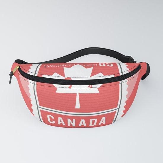 CANADA WEIM STAMP by bluweimdesigns
