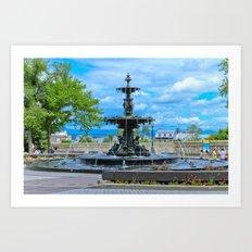 Fountain 01 Art Print