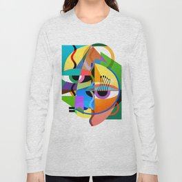 Picasso's Child Long Sleeve T-shirt
