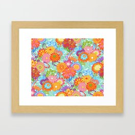 Jubilee Blooms Framed Art Print
