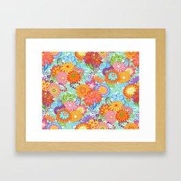Jubilee Blooms Framed Art Print