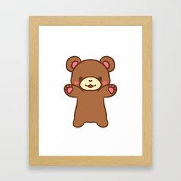 Teddy Hugs!! Framed Art Print