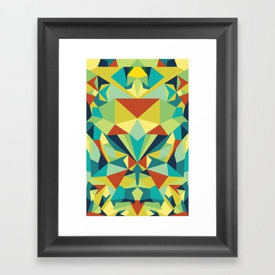 Colorful All Framed Art Print