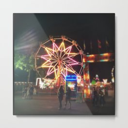 Young & Old To The Carnival We Go ! Metal Print