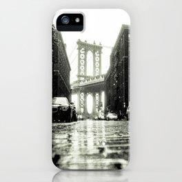Brooklyn NYC DUMBO iPhone Case