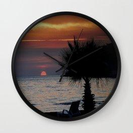 Sun Downer Wall Clock