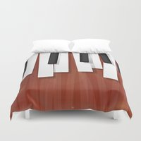 jazz Duvet Covers featuring Jazz by Rceeh
