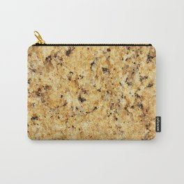 Modern gold yellow black abstract stylish marble Carry-All Pouch