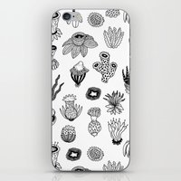 plants iPhone & iPod Skins featuring Plants by Yvonne Keesman