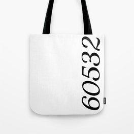 60532 zip code Tote Bag