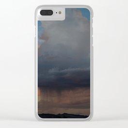 Clearing Summer Storm - San Rafael Reef, Utah Clear iPhone Case