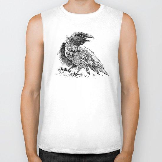 Raven / Crow Biker Tank