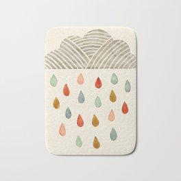 Rain Cloud Bath Mat
